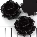 big rose 31 mm - black