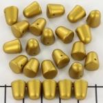 gumdrops 8x10 mm - geel goud