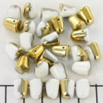 gumdrops 8x10 mm - melkwit goud