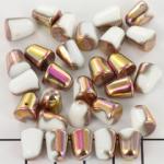 gumdrops 8x10 mm - melkwit brons