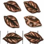 blad ovaal 25 mm - brons