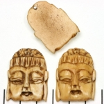 bone buddha - 32 mm