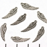 angel wing - silver