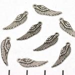 engel vleugeltje - zilver