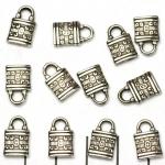hang slot - zilver 13 mm