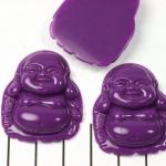 happy buddha - paars
