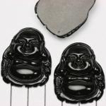 happy buddha - zwart