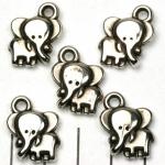 klein olifantje - zilver
