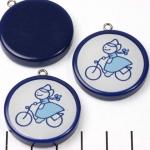 HappyDutch rond - fietsend boerin
