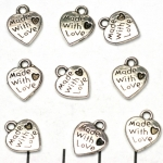 hartje made with love - zilver