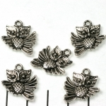 flying owl 20 mm - silver
