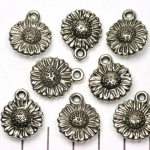 sunflower - sided silver