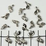 kleine herfstblaadjes - zilver