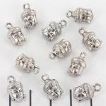 bedel buddha 14 mm - zilver