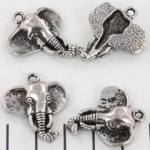 olifant 27 mm - zilver