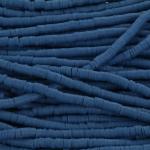 Katsuki Heishi (disc)kralen 4 mm - denim blauw