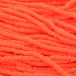 Katsuki Heishi (disc)kralen 4 mm - fel oranje