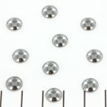 cabochon 8 mm - hematiet