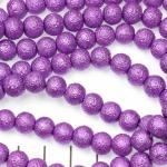 ijsparels 8 mm - lila paars