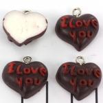 hart I love you - chocolade