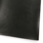 imitation leather stirdy - black with soft relief A4