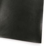 leren vel stevig - zwart met fijne nerf A5