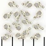 karabijn extra sterk - zilver 10 mm