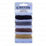 beadalon cotton cord - set of 4 colors
