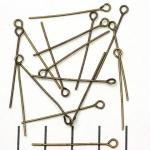 kettelstift antiek brons - 30 mm