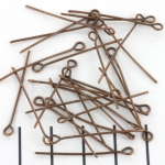 eye pin brass - 30 mm