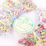 Craft package - sweet colours for elastic bracelets