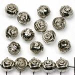 roosje 10 mm - zilver