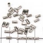 cilinder met streepjes - zilver