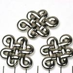 celtic knot - silver