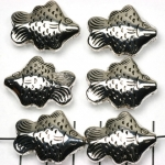 fish - silver 26 mm