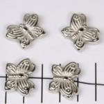 vlinder groot - zilver