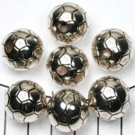 football 18 mm - silver