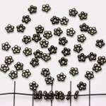 spacer 5 small balls 5 mm - black