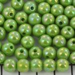 rond met AB glans - groen