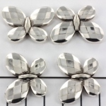 butterfly 22 mm - silver