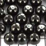 kunststof paarlemoer spray pearl 13 mm - zwart