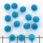 suede bead - turquoise