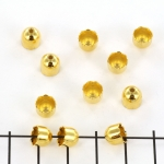 beadcap gold - 7 mm