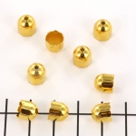 beadcap gold - 8 mm