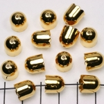 beadcap gold - 9 mm