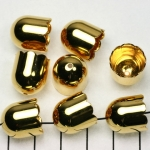 beadcap gold - 13 mm
