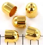beadcap gold - 16 mm