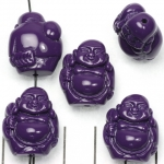 happy buddha traveling - purple