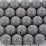 kunststof rond 14 mm opaque - titanium