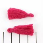kwastje 28 mm - roze